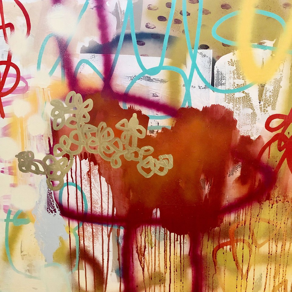 Victoria Huckins, Chinese New Year 2019, mixed media